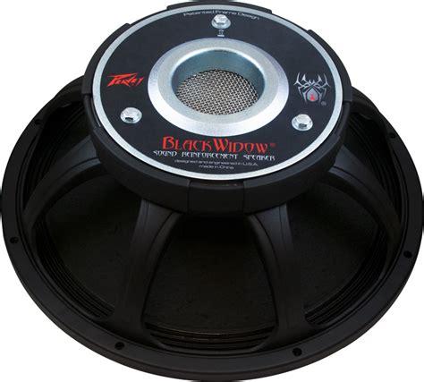 peavey black widow 15 bass cabinet speaker peavey 15 quot black widow 1505 8 dt bw 700w ce