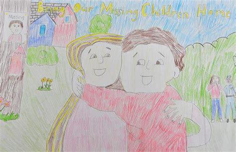 graders  enter national missing childrens day