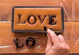 press in letters stone concrete stamps uppercase With press in letters for concrete