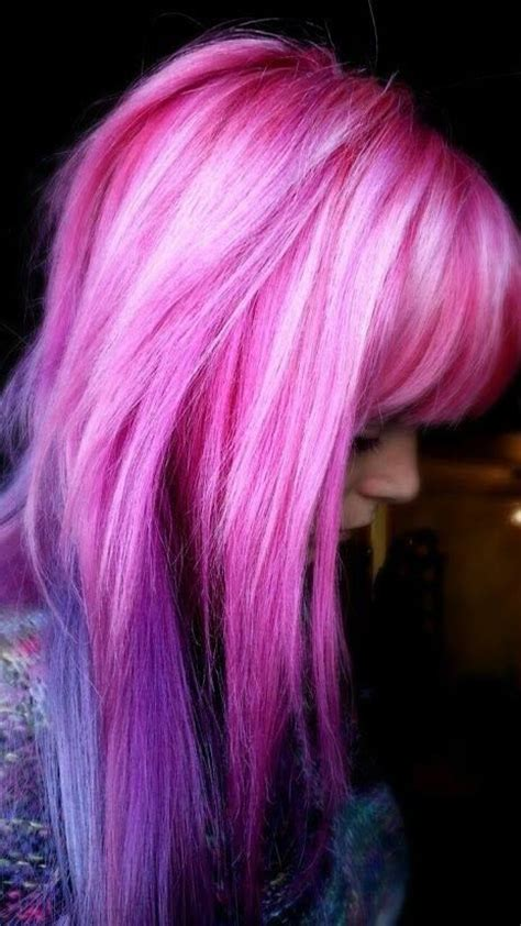 25 Best Ideas About Pink Purple Hair On Pinterest Crazy