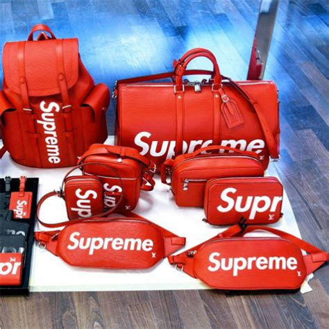 supreme  louis vuitton  mens fallwinter  collection spotted fashion