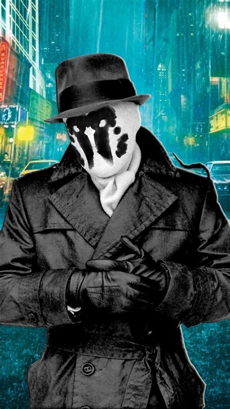 watchmen rorschach smiley wallpaper