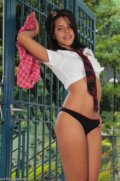 latina school girl stripping - MongerPlanet