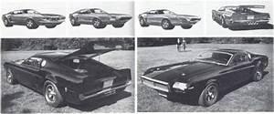 Experimental 1968 Mustang Mach 1