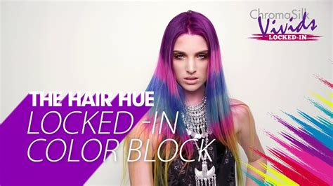 Locked-in Color Block Hair Color How-to