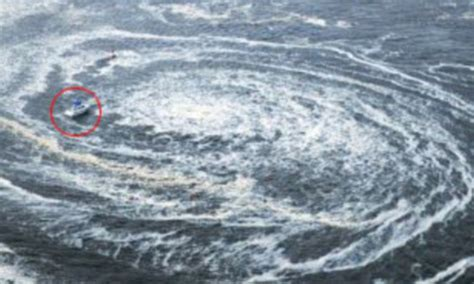 World Of Whirlpools by Japan Earthquake And Tsunami Disrupts Currents