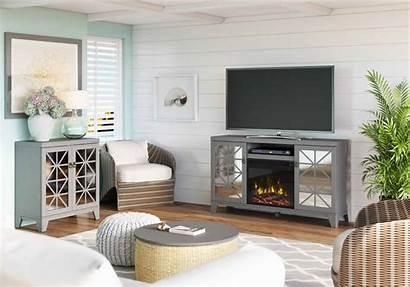 Living Fireplace Furniture Arrangement Space Open Decor