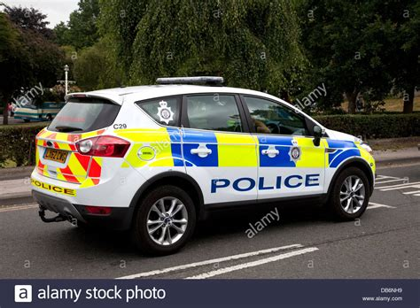 british transport police car close  york railway station