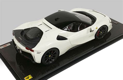 Bianco avus stays clean even when your ride is as filthy as this hybrid ferrari. MR Collection 1:18 Ferrari SF90 Stradale Coupe Bianco White