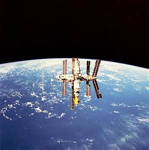 Mir Space Station Observing