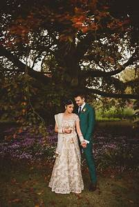 An autumnal anglo indian fusion wedding in the cotswolds for Indian fusion wedding dress
