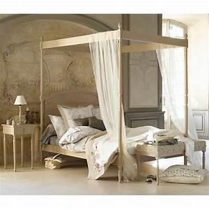 Lit Baldaquin Adulte : lit adulte baldaquin maison design ~ Teatrodelosmanantiales.com Idées de Décoration