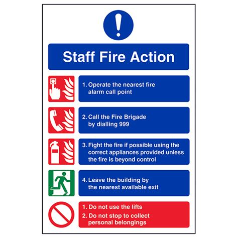 Staff Fire Action Notice  Safety Signs 4 Less. Ceramic Mosaic Murals. Logo Png Banners. Angela Lettering. Respiratory Failure Signs. Project Ieee Banners. Radioactive Logo. Awards Bet Banners. Oriental Murals