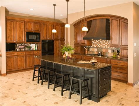 custom arch cabinets traditional kitchen minneapolis