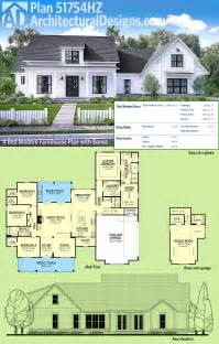 Simple Farm House Designs And Floor Plans Placement by Plan 51754hz Modern Farmhouse Plan With Bonus Room
