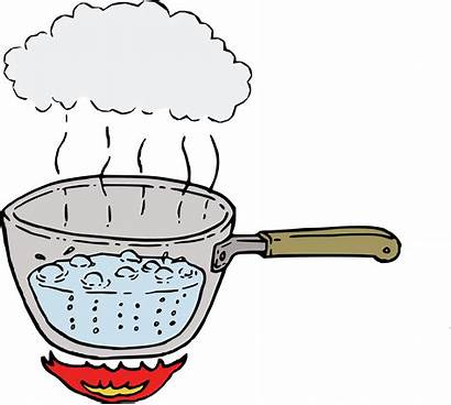 Boiling Steam Water Clipart Boil Steaming Drawing