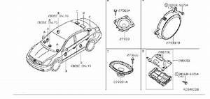 Nissan Altima Radio Amplifier  Bose  Bluetooth  Audio