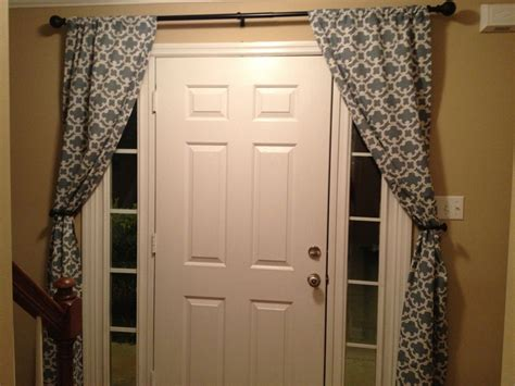 front door curtains how to no sew curtains 28 diys guide patterns