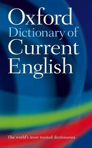 oxford dictionary  current english bookazine