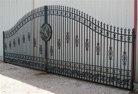 crafted ornamental iron gates highly customized by winans gates and fences