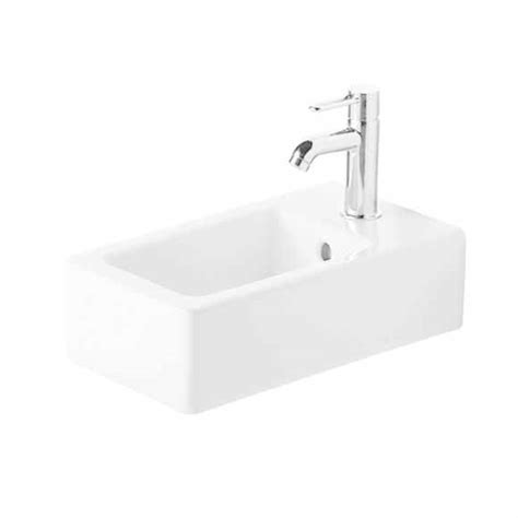 duravit vero basin no tap bathrooms and showers direct wall mounted basins