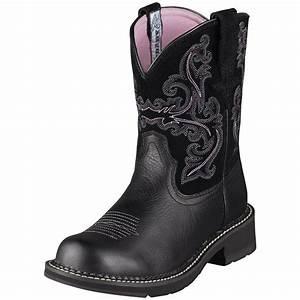 "Women's Ariat® 8"" Fatbaby II Western Boots - 216133 ..."