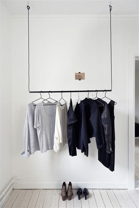 how to make hanging clothes rack smart design solutions for hiding wires in your home