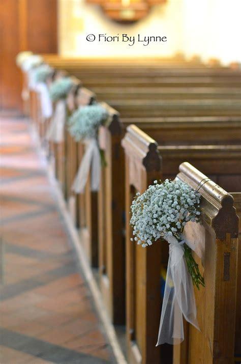 pew ends  pinterest church wedding flowers winter