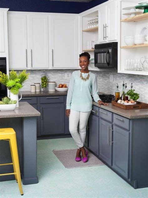 gray color kitchen 35 two tone kitchen cabinets to reinspire your favorite 1316