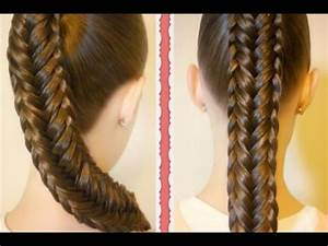 Cute Easy Fishtail Braid Hairstyle Step By Step Tutorial