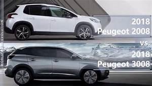Peugeot 2008 2018 : 2018 peugeot 2008 vs 2018 peugeot 3008 technical comparison youtube ~ Medecine-chirurgie-esthetiques.com Avis de Voitures