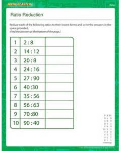 unit rate math worksheets ratio reduction printable ratio worksheet math blaster
