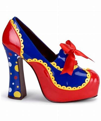 Clown Shoes Heels Adult Costume Costumes Colorful