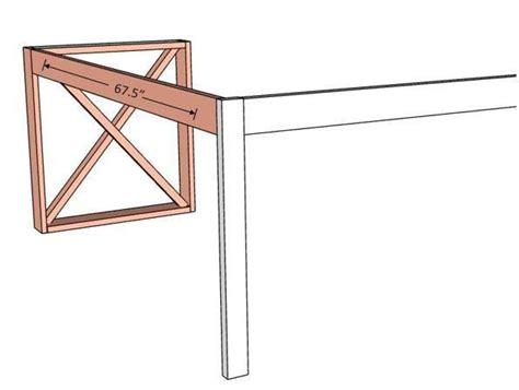 shaped double  desk diy desk plans  shape desk diy