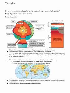 Tectonics Revision