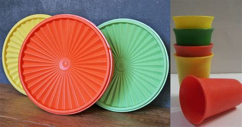 Dot Tupperware your vintage tupperware may be worth some money