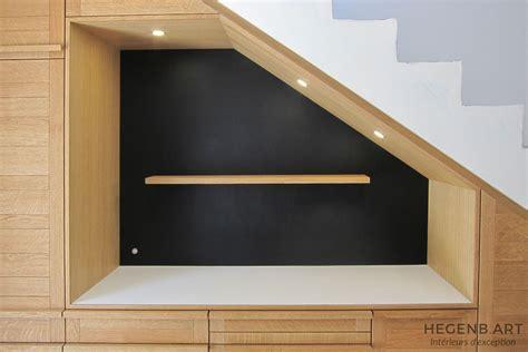 cuisine encastree hegenbart meuble sur mesure pour séjour et entrée