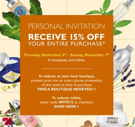 09008 Happy Endings Coupon Code by L Occitane En Provence 15 Coupon Code Musings Of A Muse