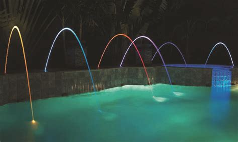 Illuminazione Con Fibra Ottica Illuminazione Per Piscina Fari In Fibra Ottica Scp