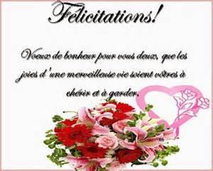 exemple de voeux de mariage modele voeux felicitation mariage document