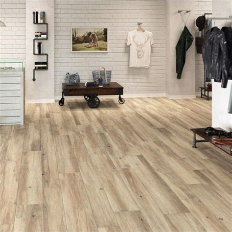 wood effect rectified porcelain floor tile by the tile manufacturer grespania with
