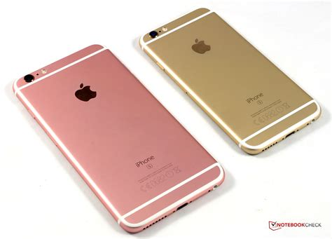 apple iphone 6s plus test apple iphone 6s smartphone notebookcheck tests
