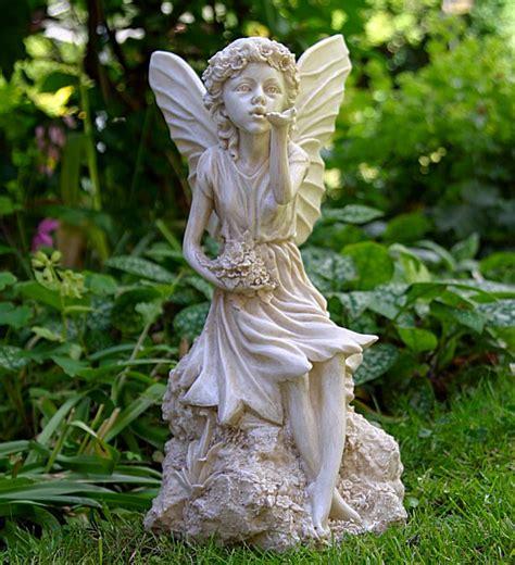 sitting fairy garden ornaments garden statues