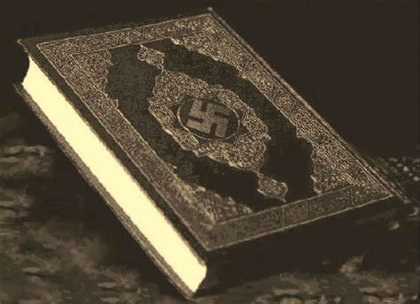 Image result for swastika on koran