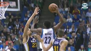 Andrew Wiggins and Rudy Gobert are waging war above the ...