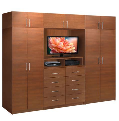 Wardrobe Closet Wall Unit by Aventa Tv Wall Unit X 10 Door Wall Unit For