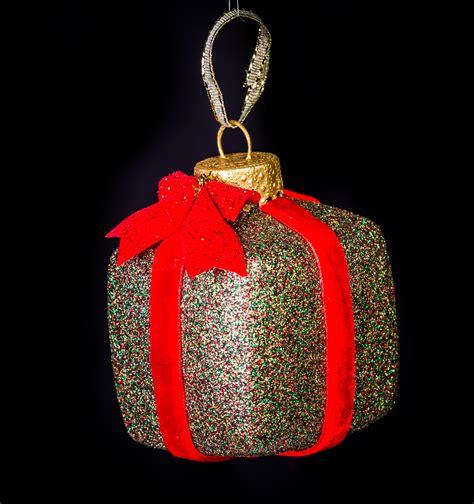 christmas present ornament eb ornaments