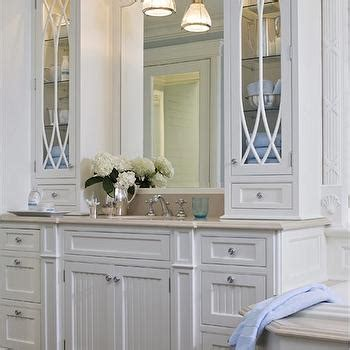 Bathroom Cabinets Blue