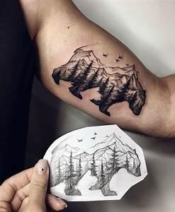 30 Epic Mountain Tattoo Ideas - Million Feed