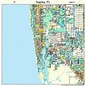 Naples Florida Street Map 1247625